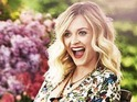 Fearne Cotton in Red magazine