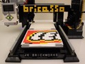 Save your fingers with the Bricasso all-Lego printer which uses 1x1 plates.