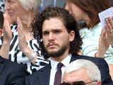 Kit Harington pictured at Wimbledon on July 2