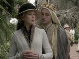 Nicole Kidman and Robert Pattinson in Queen of the Desert