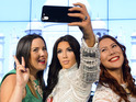 Madame Tussauds has invested in its very first 'selfie taking' waxwork...