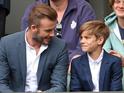 A-listers arrive at centre court on men's quarter-finals day.
