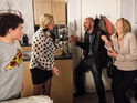 Leanne, Liz and Simon's ordeal pulled in the viewers on Monday evening.