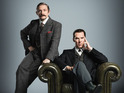 First look at Martin Freeman and Benedict Cumber in the Sherlock special
