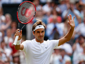 Audience peaks at 6.87m as Roger Federer defeats Andy Murray in straight sets.