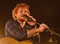 Ed Sheeran plays secret gig at Latitude