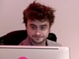 See Daniel Radcliffe as a receptionist