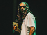 Snoop Dogg performs in Victoria Park at Lovebox 2015.