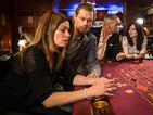 A troubled Carla lets Nick come along to the casino with her.