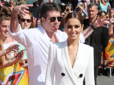 Simon Cowell and Cheryl Fernandez-Versini at the X-Factor auditions, London