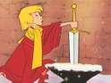 The 1963 animation told the story of a young King Arthur and his encounter with the wizard Merlin.