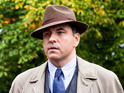 The funnyman takes on the role of Agatha Christie's sleuth Tommy Beresford in Partners in Crime.