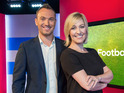 Kelly Cates and George Riley will present Football League Tonight every Saturday.