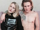 Dougie Poynter and Ellie Goulding go punk for new photoshoot