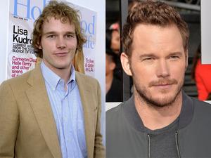 Celebrity transformations: Chris Pratt