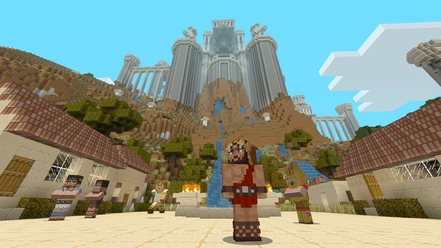 Greek Map Minecraft Minecraft Gets Greek Mythology