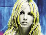 Britney Spears 'Britney' album artwork.