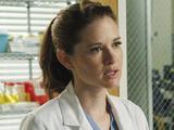 Sarah Drew as Dr April Kepner in Grey's Anatomy