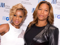 Mary J Blige and Queen Latifah