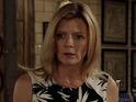 Jane Danson reveals how Leanne reacts to Simon's latest violent attacks.