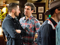 Ross ruins Pete's happy night in Monday night's episode.