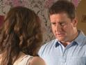 Evil Pete tries his best to destroy Celine's confidence in Thursday's E4 episode.