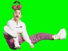 Miley Cyrus rides a cat and wears a giant cherry handband in a truly bonkers MTV Video Music Awards promo