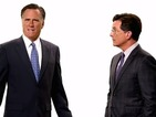 Stephen Colbert gets a helping hand from Mitt Romney in new Late Show promo