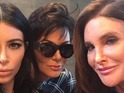Kardashian clan weren't best pleased with Caitlyn's quotes in Vanity Fair.