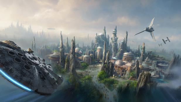 Star Wars lands concept art