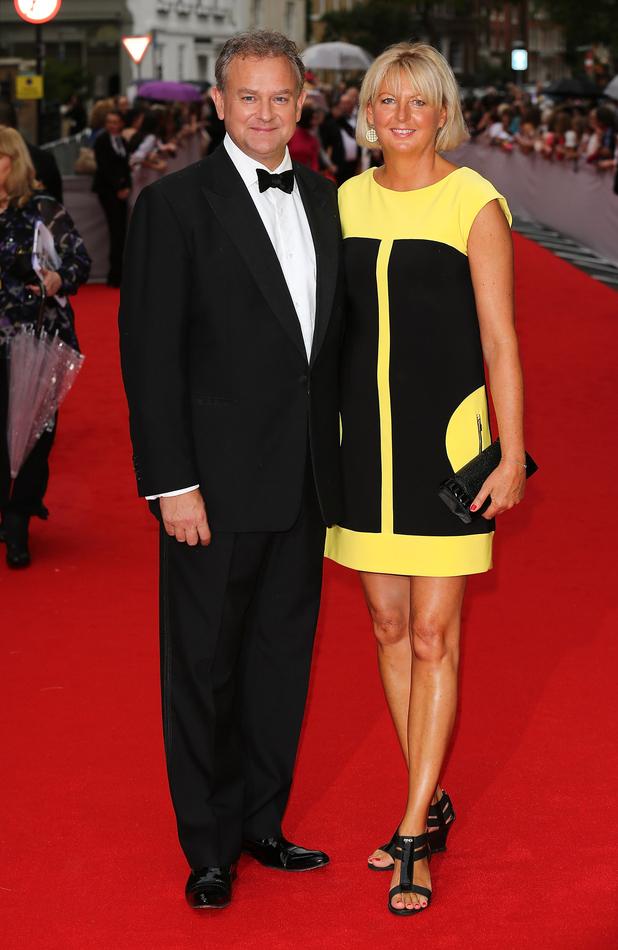 Hugh Bonneville and Lulu Williams attend as BAFTA ...