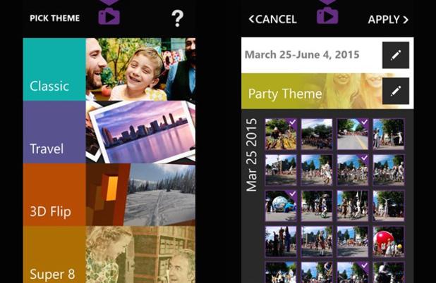 Windows Photo Story app
