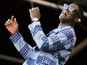 Labrinth proposes live on stage at V
