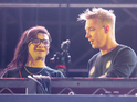The band showed Diplo and Skrillex round their studio last month.