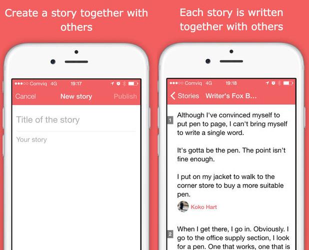 Story Wars app