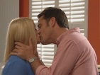 Hollyoaks spoiler pictures: Diane O'Connor kisses Tony following fight with Tegan