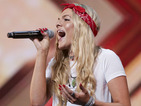 "X Factor: Louisa Johnson sails through to the next round with ""a billion percent yes"""