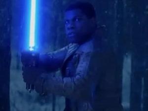 John Boyega in Star Wars: The Force Awakens teaser