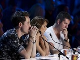 Josh Daniel performs for the judges on The X Factor