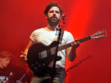 Foals perform on stage at Reading Festival 2015