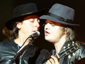 Pete Doherty and Carl Barat of The Libertines, Leeds Festival 2015