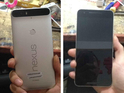 The fingerprint scanner and metallic build are visible in latest photo leak.