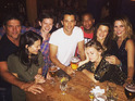 Sophia Bush and co enjoy a fun night out - and it's like they've never been apart.