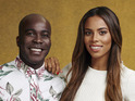 Rochelle Humes and Melvin Odoom discuss X Factor's backstage antics.