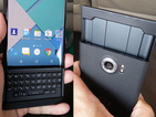 BlackBerry Android phone leak shows off retractable keys