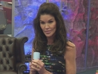"Celebrity Big Brother: Janice Dickinson gets final formal warning for ""aggressive"" spitting gesture at Austin"