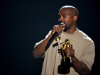 The most tweet-filled minute followed Kanye West's insane acceptance speech/presidency bid.