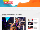 Loose Women criticised for asking in an online poll if it is ever a woman's fault she is raped