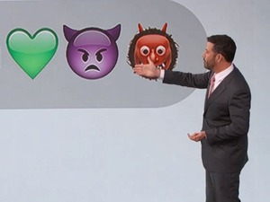 Jimmy Kimmel explains the Nicki Minaj/Miley Cyrus feud with emojis