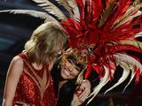 Nicki Minaj and Taylor Swift perform together at the MTV VMAs